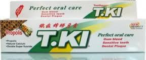 【T.KI】 鐵齒蜂膠牙膏 70g/條
