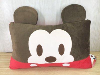 【真愛日本】15121900047 大臉雙人枕-米奇 米奇 米尼 迪士尼 米老鼠 枕頭 靠枕 靠墊