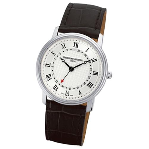 CONSTANT 康斯登/經典超薄石英腕錶/FC-250M5S6