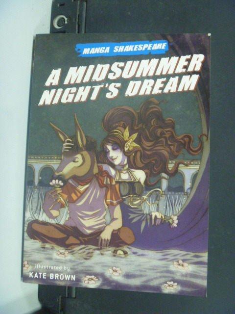 【書寶二手書T5/漫畫書_GBW】Shakespeare: A Midsummer Nights Dream