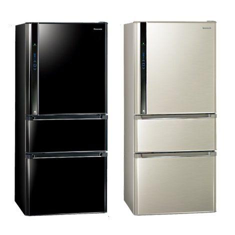 Panasonic 國際牌 610L 智慧節能變頻三門冰箱 NR-C618HV (光釉黑/香檳金)【零利率】※熱線07-7428010