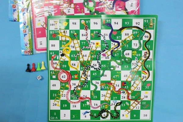 蛇棋 遊戲盤童玩/一袋12組入{促10}