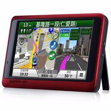 [NOVA成功3C]GARMIN nuvi 3590 5吋高畫質玩家生活聲控GPS導航機(金屬紅)  喔!看呢來