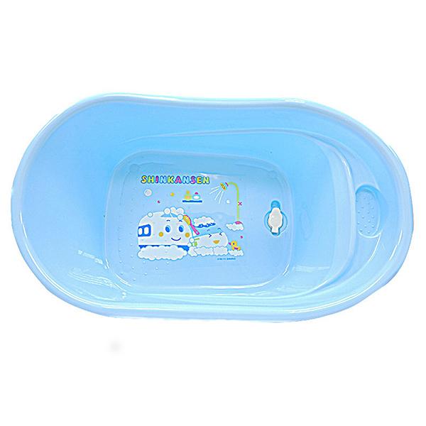 【真愛日本】 8041100016  新幹線浴盆  三麗鷗新幹線SHINKANSEN 浴盆 兒童洗澡盆 澡盆
