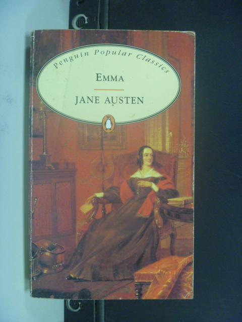 【書寶二手書T8/原文小說_HLY】Emma _Austen, Jane, 珍.奧斯汀