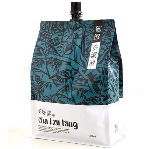 茶籽堂天然茶籽碗盤洗潔液補充包1000ml