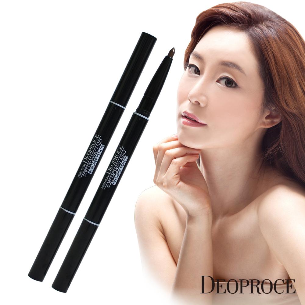【Deoproce】自動雙頭眼線筆30mm*2 ►韓國美妝 原裝進口