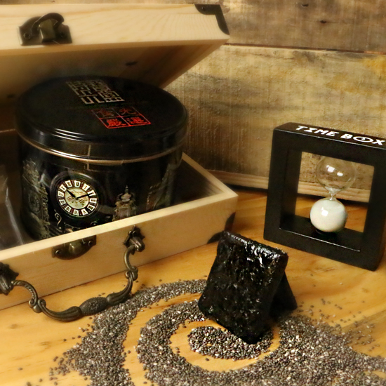 【TIMEBOX】饕客嚴選全素名品-黑芝麻糕
