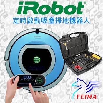 美國原廠公司貨 iRobot Roomba 790 第七代機器人頂級定時自動掃地機/吸塵器 ~送HEPA濾網12顆+邊刷9支+防撞條+螢幕貼+清潔刷~