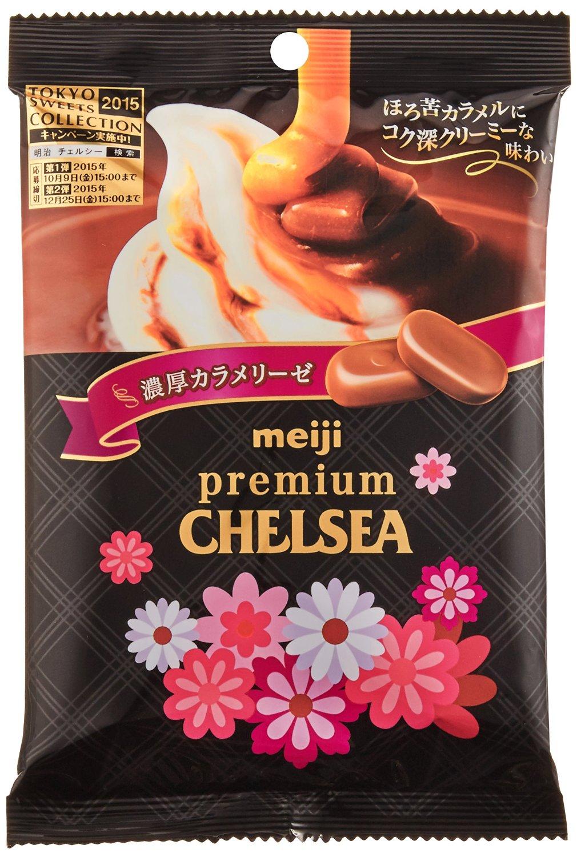 日本明治  巧喜焦糖奶油糖   日本進口