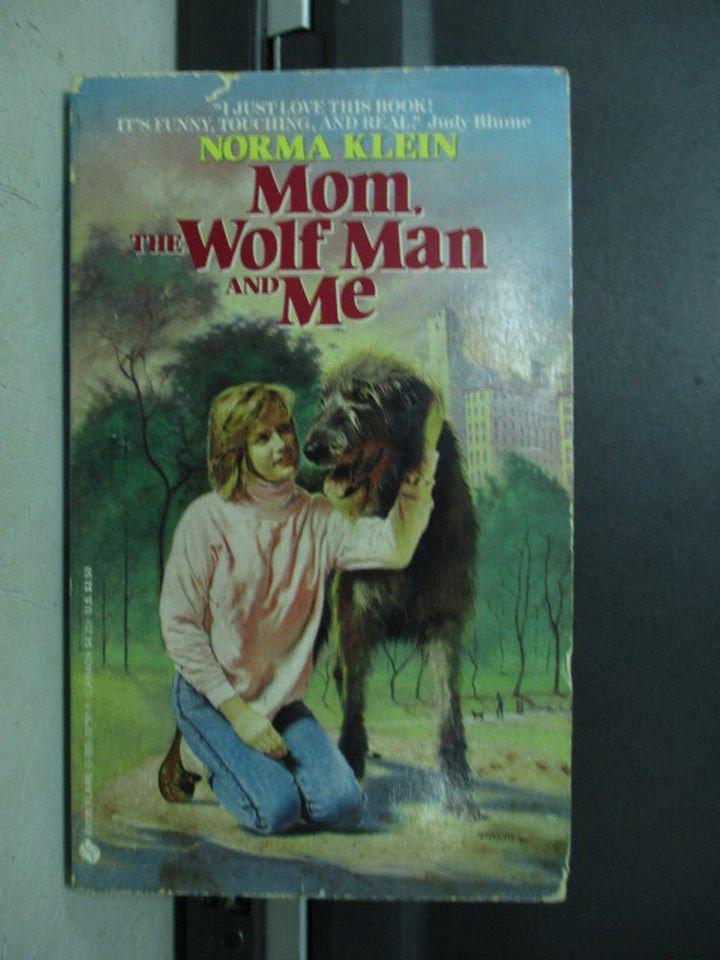 【書寶二手書T7/原文小說_LAL】Mom the Wolf Man and Me