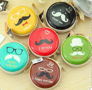 趣味元素拉鍊圓筒小零錢包 韓國可愛小錢包 耳機硬幣包【庫奇小舖】