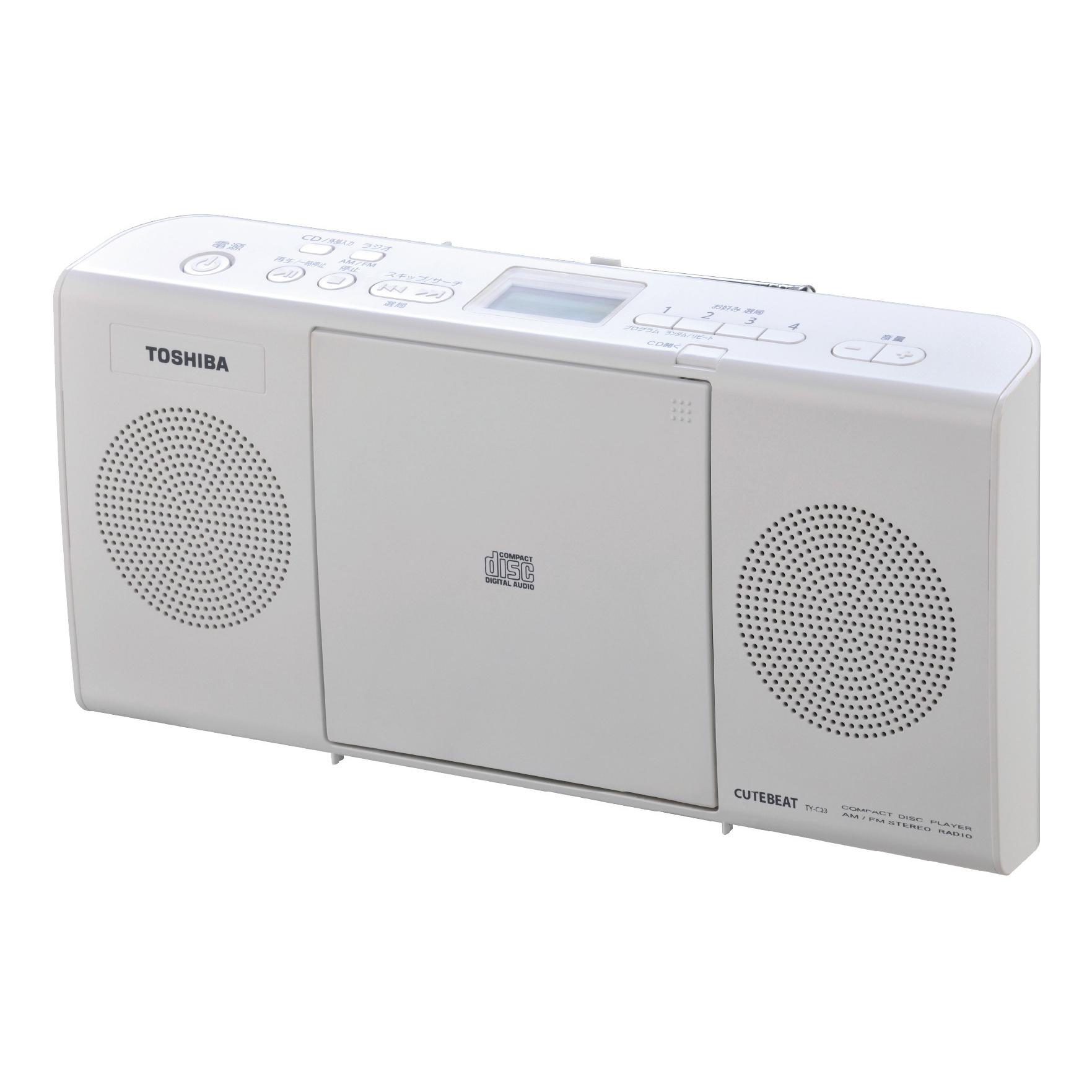 Toshiba 東芝 MP3手提CD音響 TY-CRM23TW