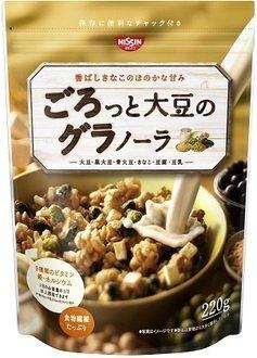 日清小袋早餐麥片-大豆220g