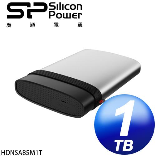 廣穎 Silicon Power Mac專用 A85 1TB USB3.0 2.5吋軍規行動硬碟