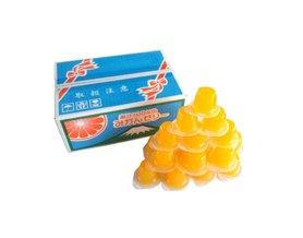 【橘町五丁目】季節商品!  AS 100% 果汁果凍盒裝23入-橘子果凍