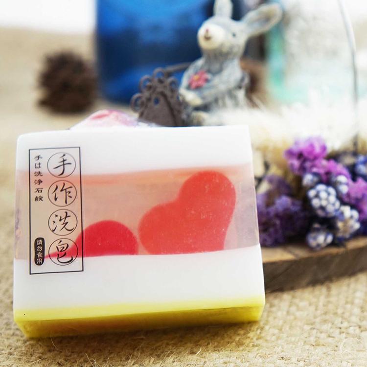 【Oread山之精靈】手工皂系列 - 玫瑰麝香滋養皂(洗顏、沐浴)