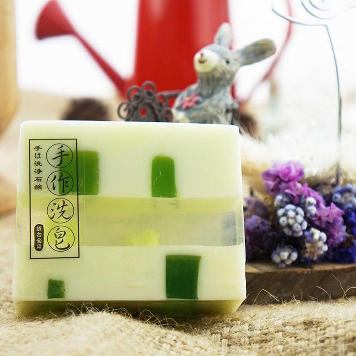 【Oread山之精靈】手工皂系列 - 檸檬水嫩淨白皂(洗顏、沐浴)