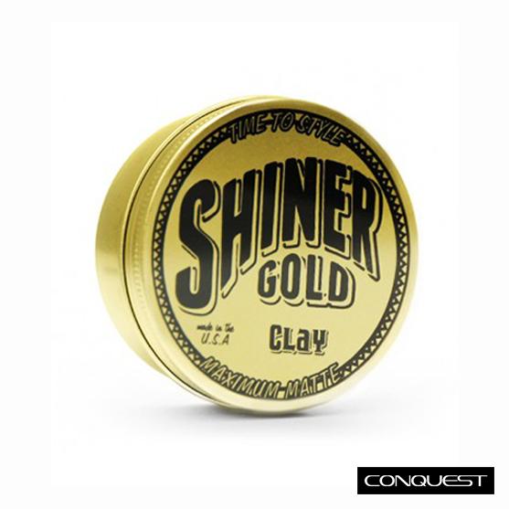 Shiner Gold Pomade Shiner Gold Matte Clay 無光澤髮泥 Mister Pompadour Suavecito