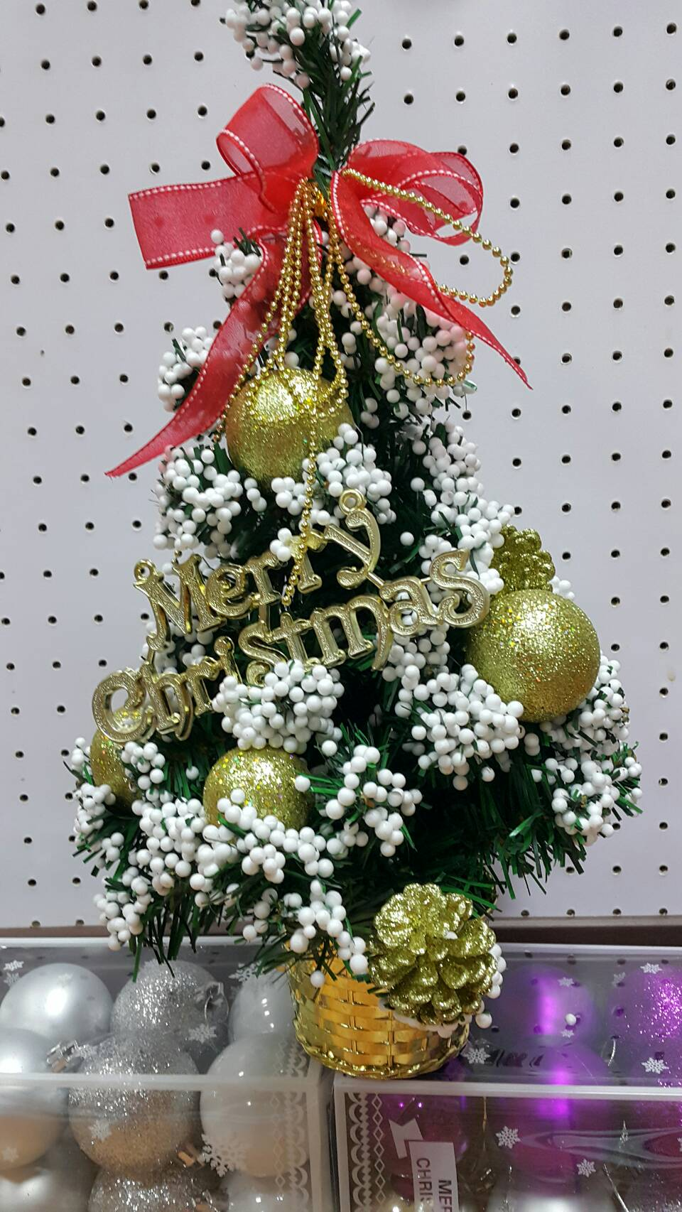 X射線【X392405】35cm雪花裝飾樹(金),聖誕樹/聖誕佈置/聖誕燈/會場佈置/材料包/成品樹/小樹