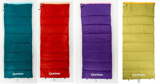 日野戶外~好野 Outthere 好窩睡袋 睡袋 體積小 重量輕 可拼接 七孔棉 旅遊 露營 住宿
