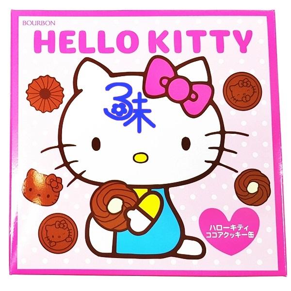 (日本) 北日本 BOURBON  Hello kitty 造型巧克力餅乾禮盒 1盒345公克  特價 330 元 【4901360320011 】凱蒂貓餅乾禮盒