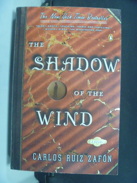 【書寶二手書T7/原文小說_GFP】The Shadow Of The Wind_卡洛斯.魯依斯.薩豐