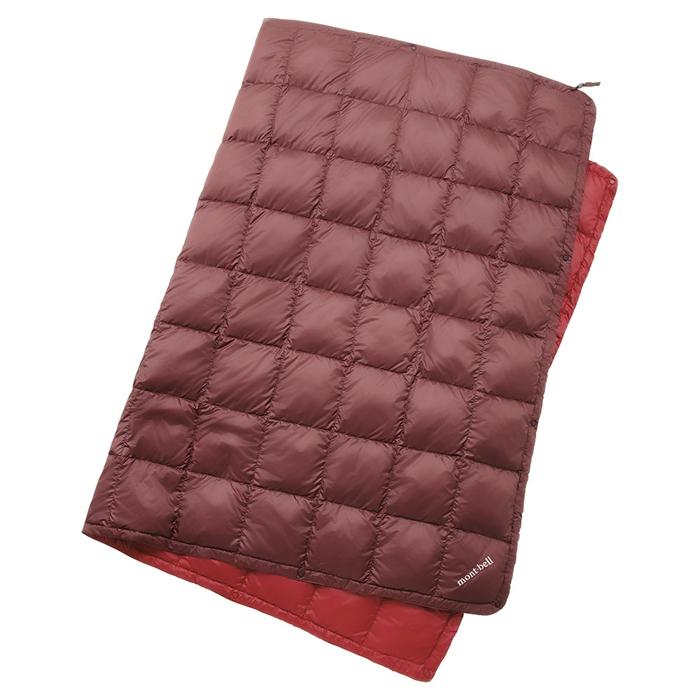 【鄉野情戶外專業】mont-bell |日本|多用途羽絨毯/蓋毯 羽絨毯子/-栗褐 1124593