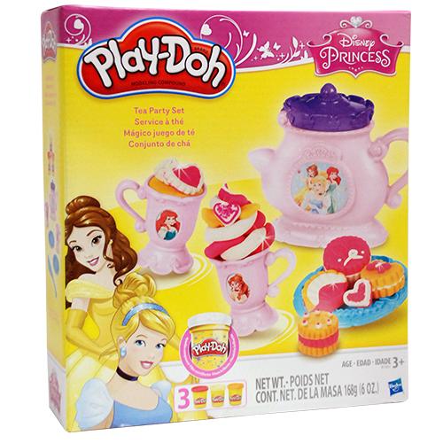 ★衛立兒生活館★Play-Doh 培樂多 迪士尼公主下午茶遊戲組