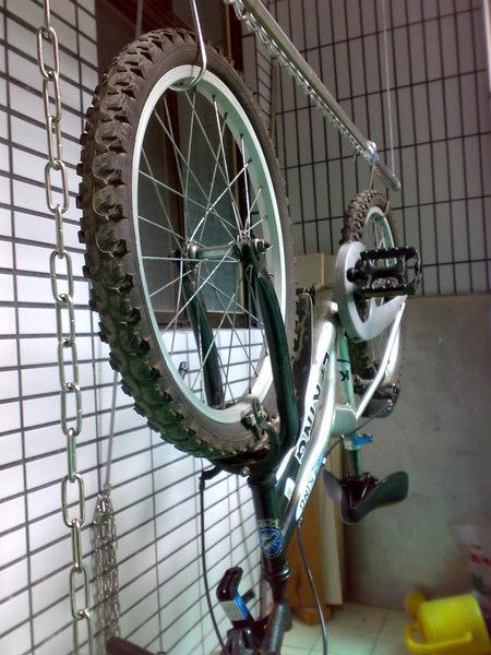 《㊣單車完全收納於天花板!》【安耐曬升降曬衣架】㊣MIT台灣製造!㊣2012耐用度100%UP!