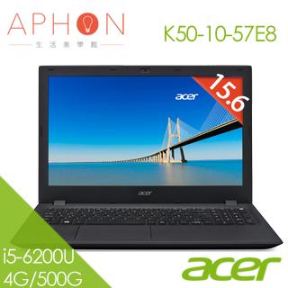 【Aphon生活美學館】ACER K50-10-57E8 15.6吋 Win10 2G獨顯 筆電(i5-6200U/4G/500GB)