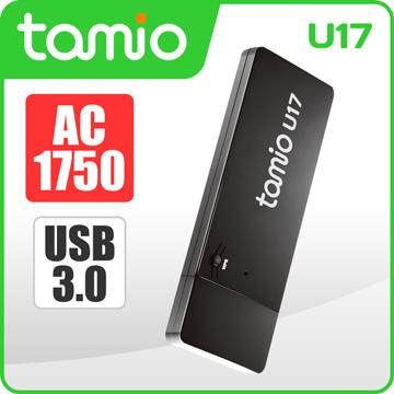 網路最低價【迪特軍3C】TAMIO U17-AC1750 WiFi無線網卡 雙頻優勢 2.4GHz高相容5GHz低干擾
