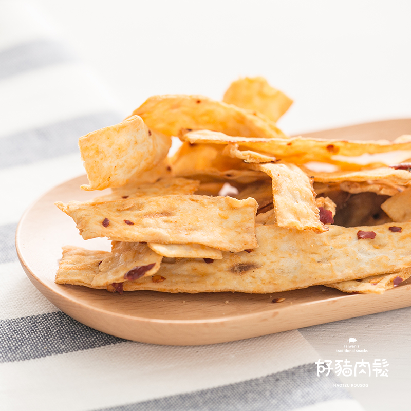 好豬肉鬆【麻辣鱈魚片】135g 極辛辣椒子,海味鱈魚片