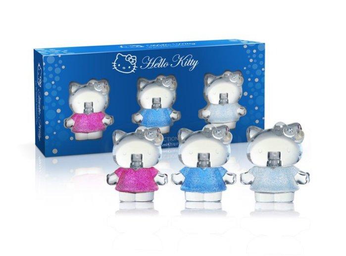【單品免運】Hello Kitty Diamond 璀鑽旅行小香禮盒 EDT 3*5ML ☆真愛香水★ 聖誕交換禮物女生