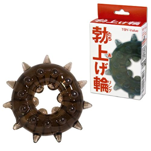[漫朵拉情趣用品]【日本 對子哈特 】*勃上げ輪(リング)(RING SMOKE -Thorn-) 陰莖環 DM-9203305