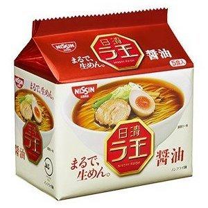 【Nissin日清】拉王拉麵5包入-醬油 102gX5入