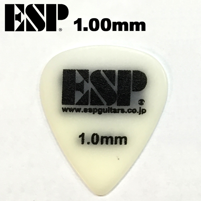 【非凡樂器】ESP 頂級防滑Pick【1.00mm】A