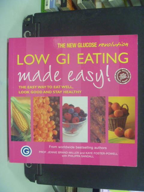 【書寶二手書T4/養生_HFW】Low GI Eating Made Easy_M.S. Wolever
