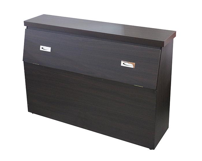 【尚品傢俱】RS927-54-07 簡雅3.5尺胡桃色床頭箱/床頭背墊板/床頭休憩靠板/床頭裝飾靠板/床頭背靠板