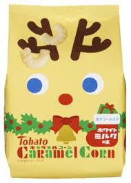 【 聖誕節限定 】Tohato東鳩焦糖玉米脆果-牛奶 (77g) 東ハト キャラメルコーン ホワイトミルク味