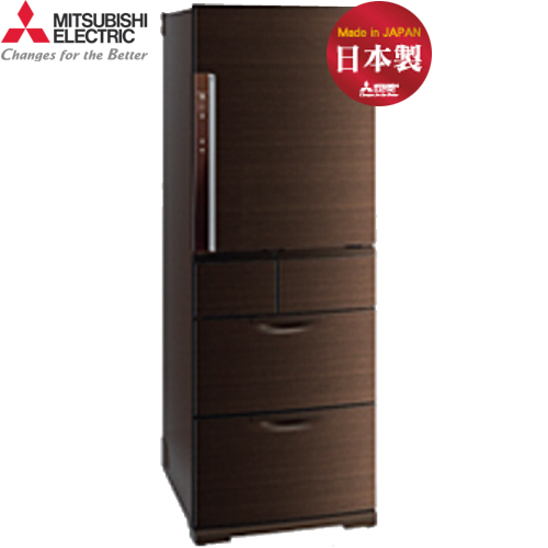 Mitsubishi 三菱 MR-BX52W-BR-C 520L 5門 變頻電冰箱 日本原裝 (閃耀棕)