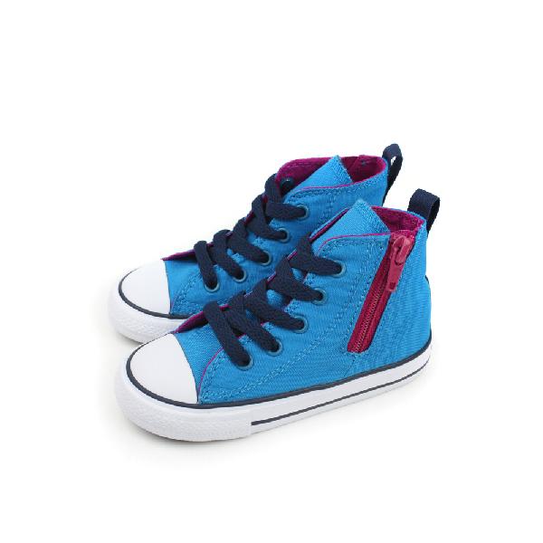 CONVERSE CTAS Side Zip 休閒鞋 藍 小童 no195
