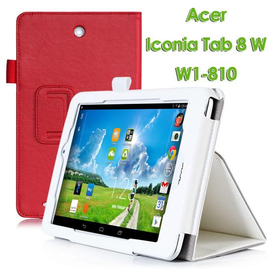 【手托】Acer Iconia Tab 8 W W1-810 專用平板牛皮紋皮套/書本式翻頁帶筆插保護套/立架展示斜立~出清特惠