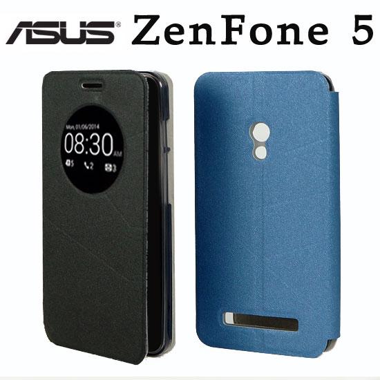 【視窗】ASUS ZenFone5 A500CG/A501CG 視窗感應翻頁式皮套/智能休眠喚醒/磨砂保護套/書本式翻頁皮套/保護皮套/支架斜立展示