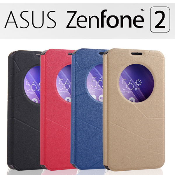 【金砂】ASUS ZenFone2 ZE551ML/ZE550ML/Z00AD/Z008D 5.5吋視窗感應翻頁式皮套/智能休眠喚醒/書本式翻頁皮套/保護皮套/支架斜立展示