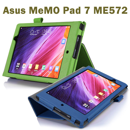 【手托】華碩 Asus MeMO Pad 7 ME572C/ME572CL 專用平板 K007/K00R 牛皮紋保護皮套/翻頁式立架展示斜立