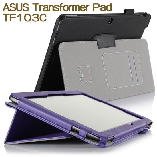 【手托、帶筆插】華碩 ASUS Transformer Pad TF103C 專用平板 K010 K018 牛皮紋筆記本保護皮套/書本式翻頁/斜立展示/可手持