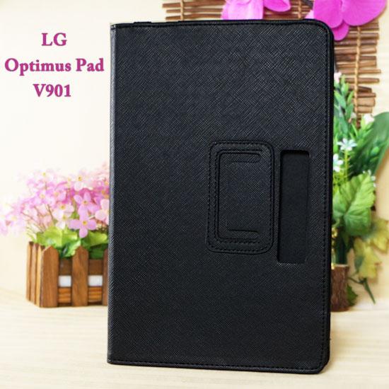 【側掀、斜立】LG Optimus Pad V901 平板專用保護書本式皮套/筆記本式翻頁保護套/展示型【限量促銷】