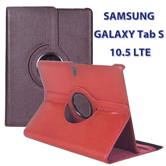 【旋轉、斜立】三星 SAMSUNG GALAXY Tab S 10.5 T805 4G LTE/T800 WiFi 平板專用 荔枝紋皮套/書本式保護套/側掀支架展示