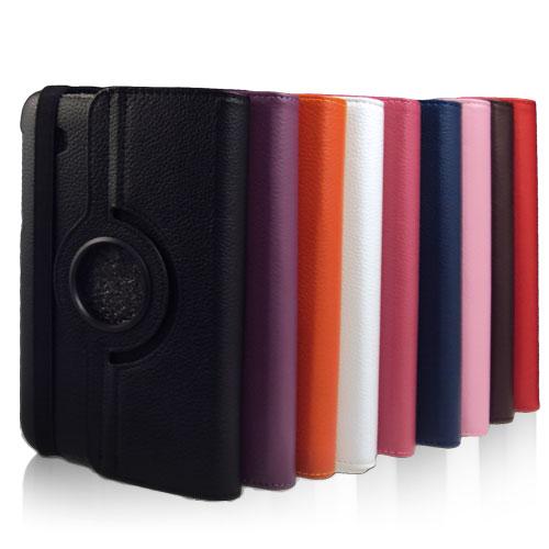 三星SAMSUNG Galaxy Tab 2 P3100/P3110 7 吋 荔枝紋旋轉皮套/筆記本型可斜立保護套